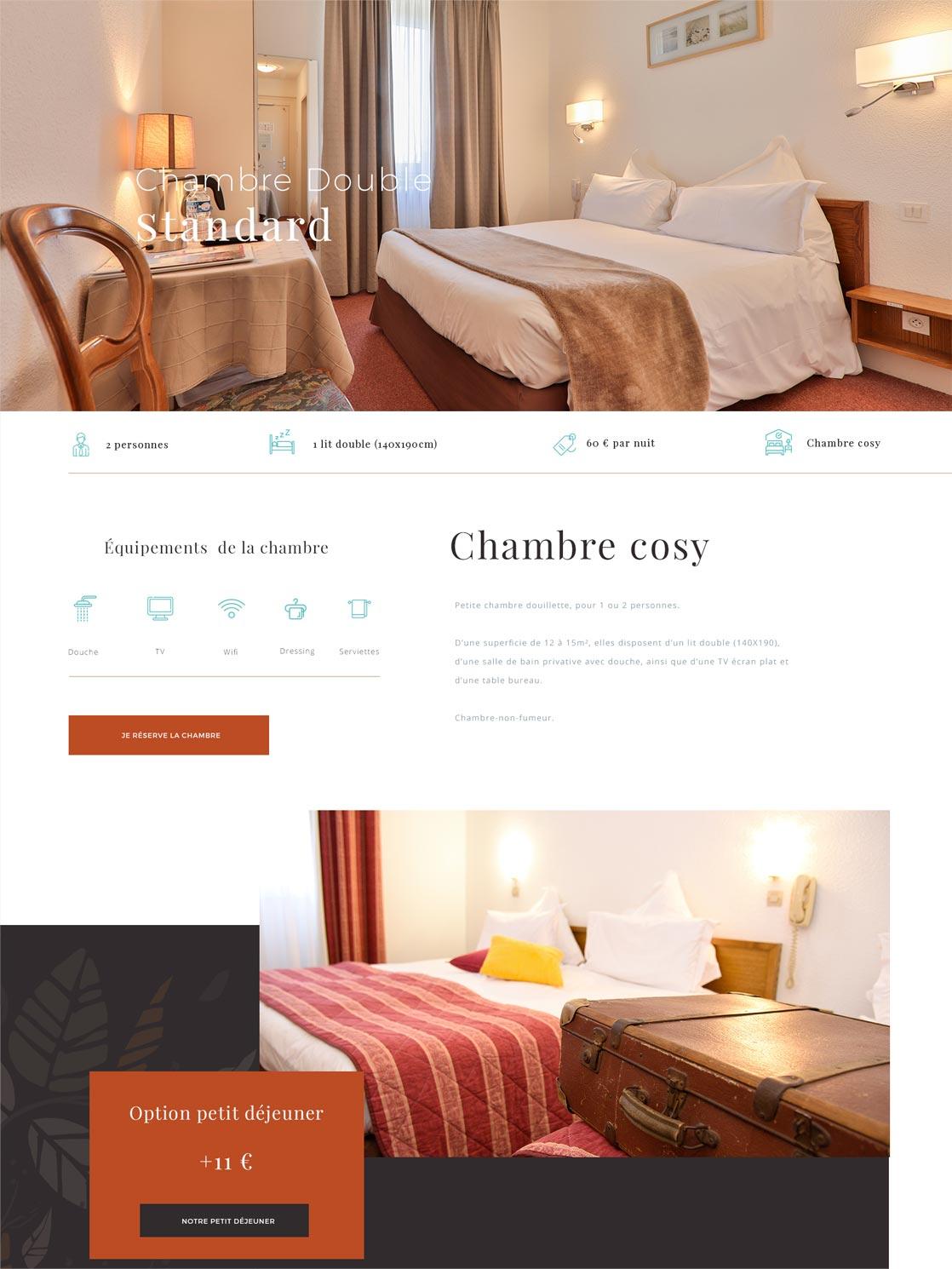 Site internet de l'Hôtel Deybach