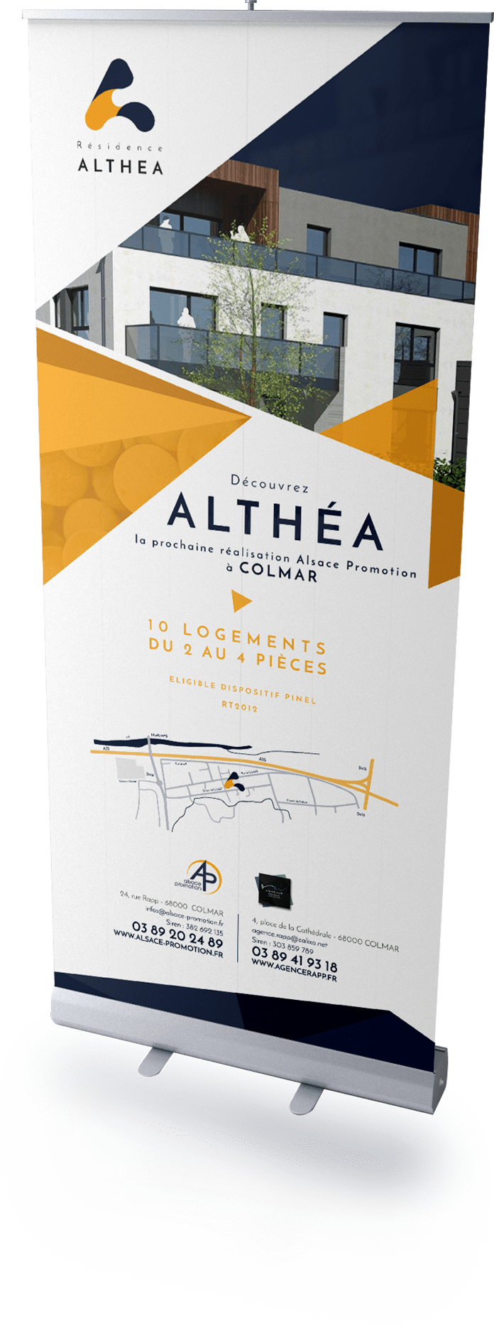 Roll up de la Résidence Althea