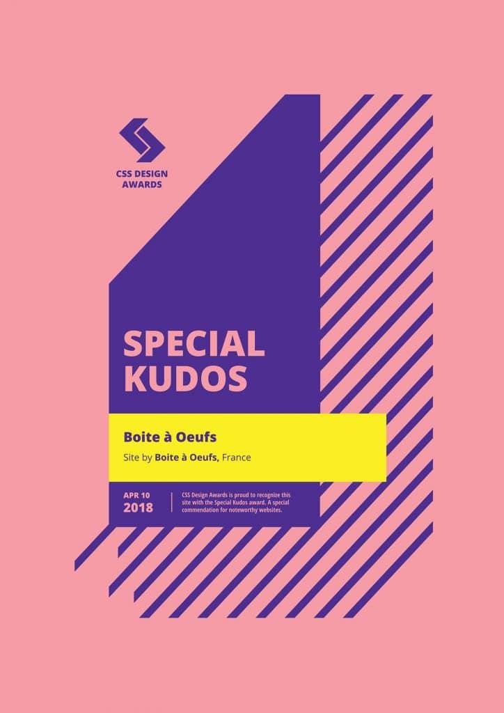 2018 04 10 CSSDA Boite a Oeufs Special Kudos 724x1024 - Boite à Oeufs récompensé