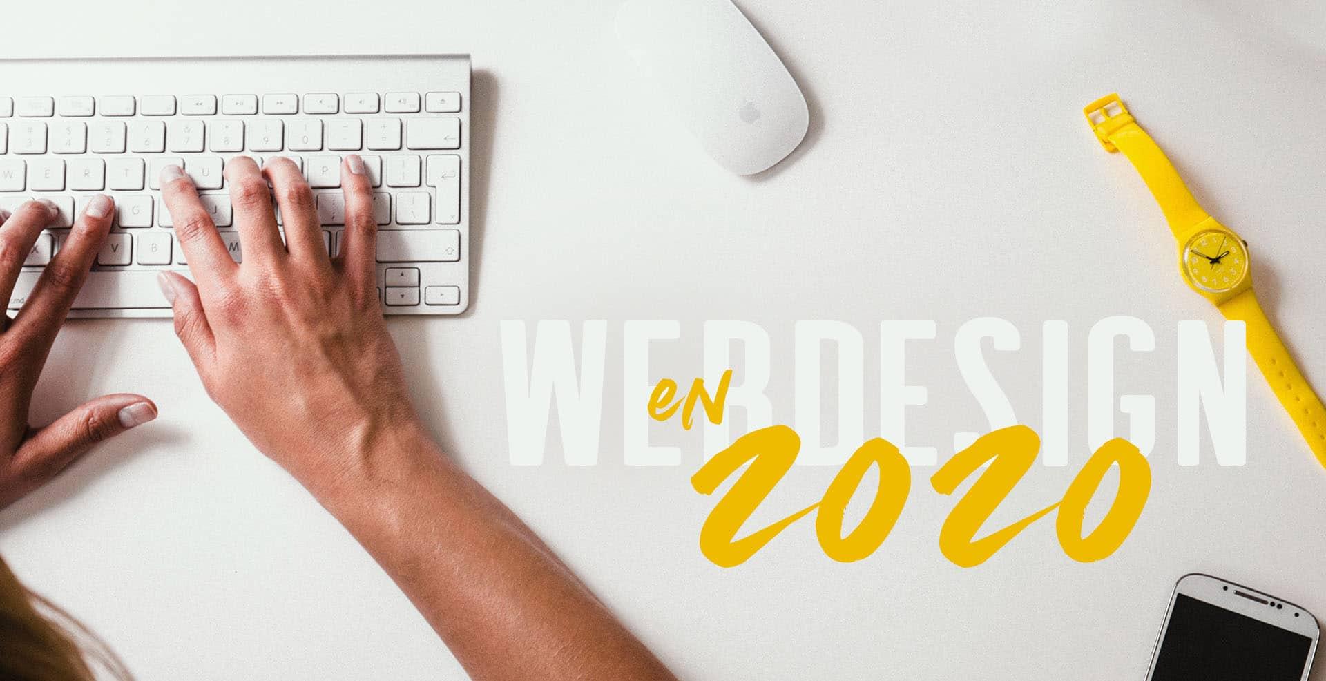 Webdesign en 2020 : quel est le programme ?